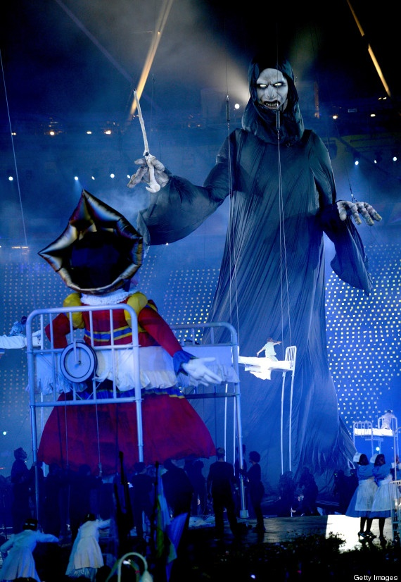 Mary Poppins versus Voldemort at the London Olympics Opening Ceremonies. HOW EPIC WAS THIS?!?!?