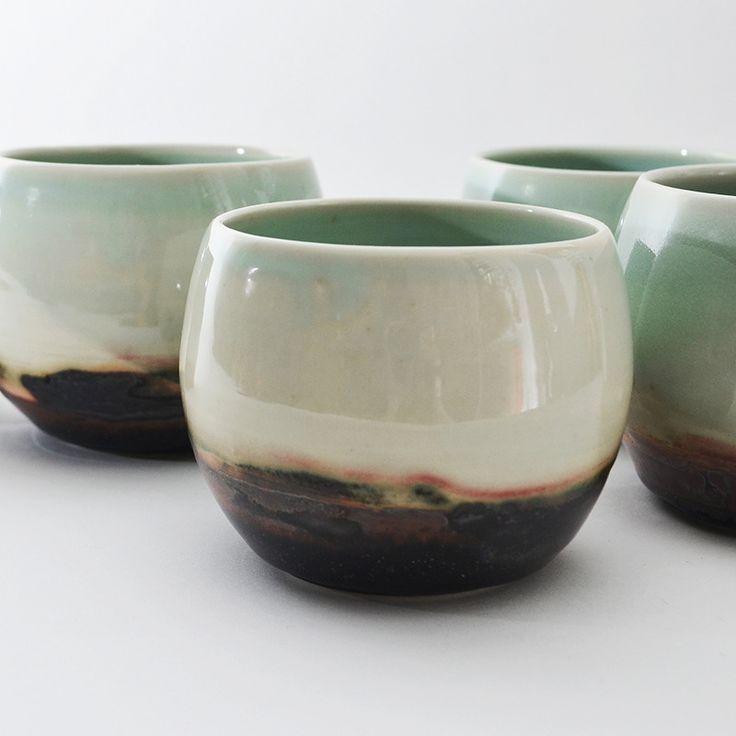 studio joo porcelain tea bowls  Elaine Tian