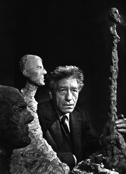 Giacometti, photograph by Yousuf Karsh, 1965.Swiss sculptor,artist,draughtsman and printmaker.