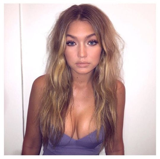 gigi hadid hair and make up