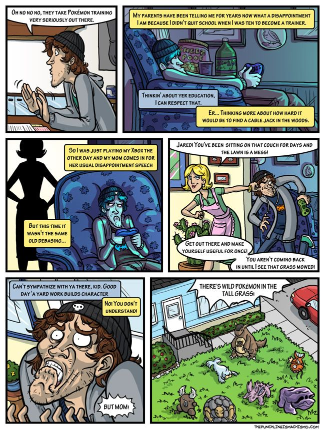 Manly Guys 08 by Coelasquid.deviantart.com - Jared tells his tale