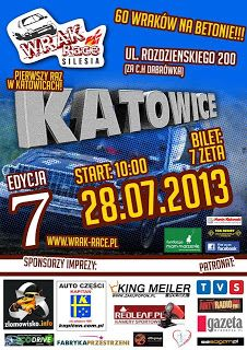 Rafał Ratyński blog: Wrak Race Silesia VII...