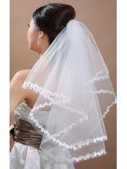 Short Wedding Veil 007