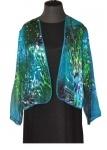 Kimono Style Silk Jacket.  $129.00