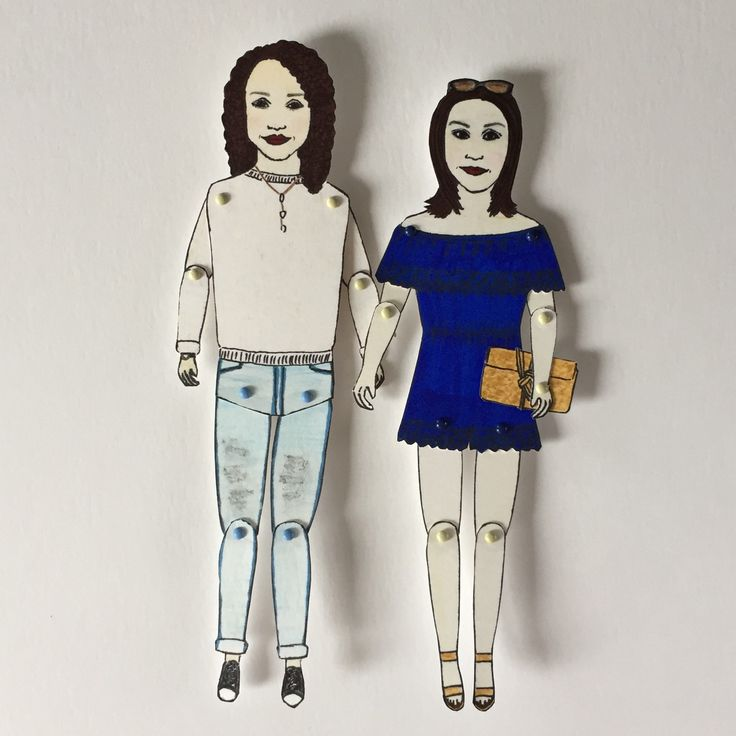 #california here we come! #sisters #sistersforlife #bridalgifts for any occasion #paperweddinganniversary #wedding #anniversary #gifts #paperdolls #chunkydumplingpaperdolls #illustration #celebration #specialoccassions #birthdays #handmade #custommade