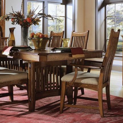 Universal Furniture Dining Room Artisan Oak 648 For