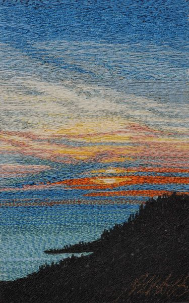 Another beautiful scenic quilt by this quilter                                                                                                                                                                                 More