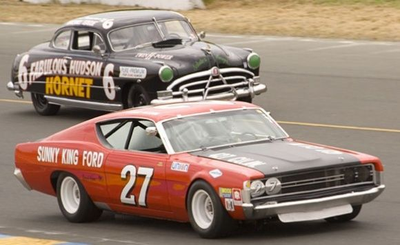 1968 Ford Torino NASCAR Talladega and Daytona Race Car For Sale Front