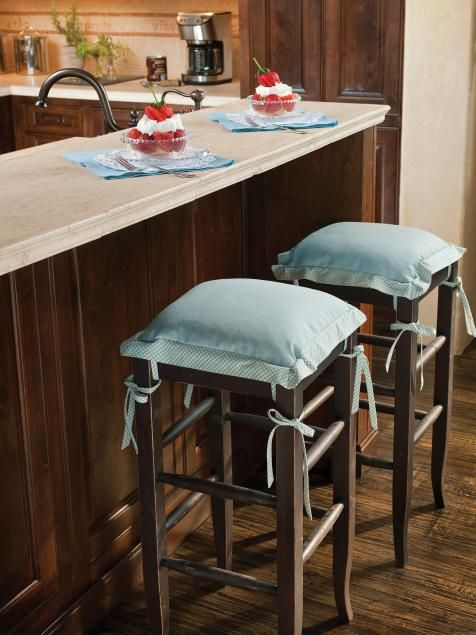 HGTV.com has inspirational pictures, ideas and expert tips on painted kitchen chairs that can provide a burst of color in your cooking space.