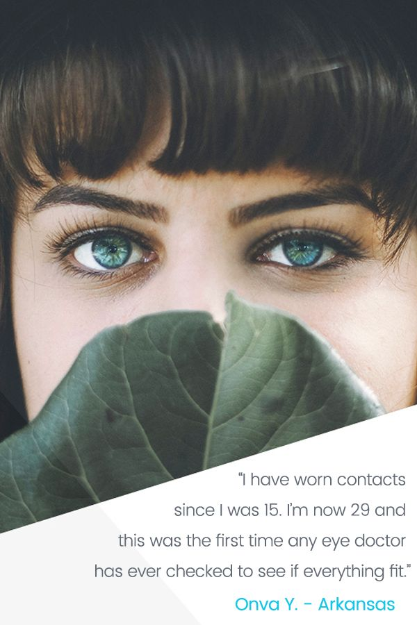 Wear contacts?  Let Sightbox do the work for you. We research a great local eye doctor, book and pay for your exam, and then deliver a 12-month supply of name brand lenses. Astigmatism and color lenses are included!