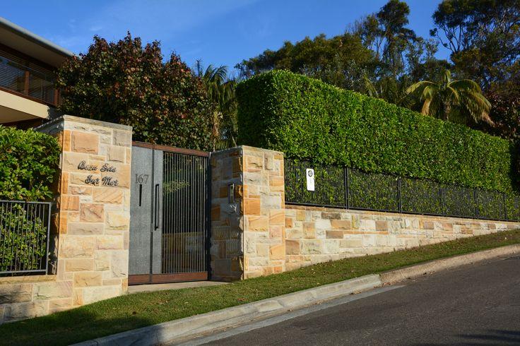 Sandstone Wall Palm Beach Sydney