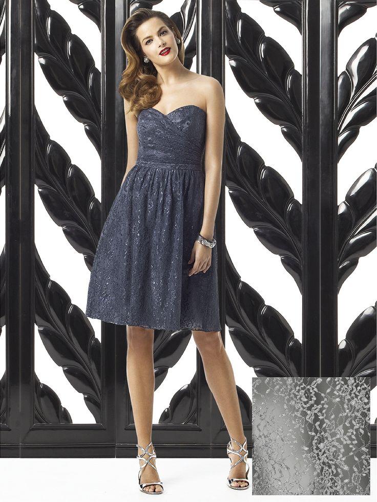 Strapless Lace Bridesmaid Dresses