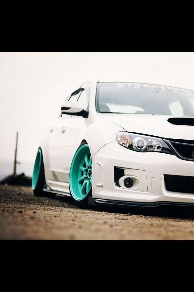 Subaru WRX STi  This is exactly what mine will look like with colors.