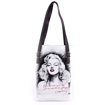 Marilyn Monroe Tote Bag, 36€, now featured on Fab.