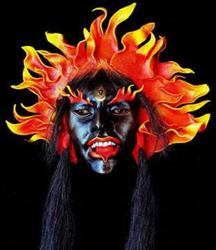KALI ...      Once upon a time,  The world became overpopulated by demons  They filled the world with their insatiable greed  and remy b