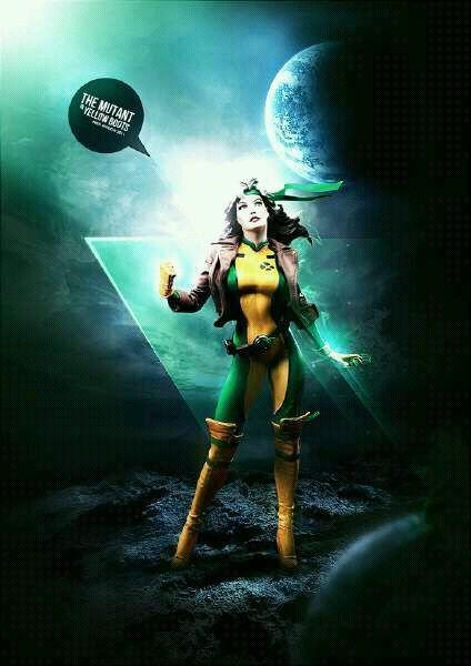 Rogue #AnnaPaquin #Xman #cosplay #costume #Marvelcomic #comic #hero #movie
