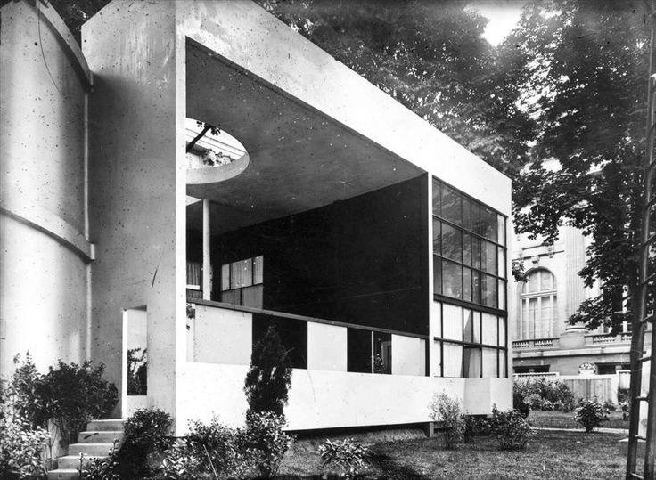 Le Corbusier | 1924 | Pavillon de l'Esprit Nouveau | Paris, France | Constructed for the 1925 Paris Exposition des Arts Décoratifs