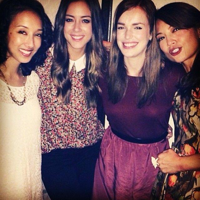 Mo Tancharoen, Chloe Bennet, Elizabeth Henstridge, Ming-Na ...