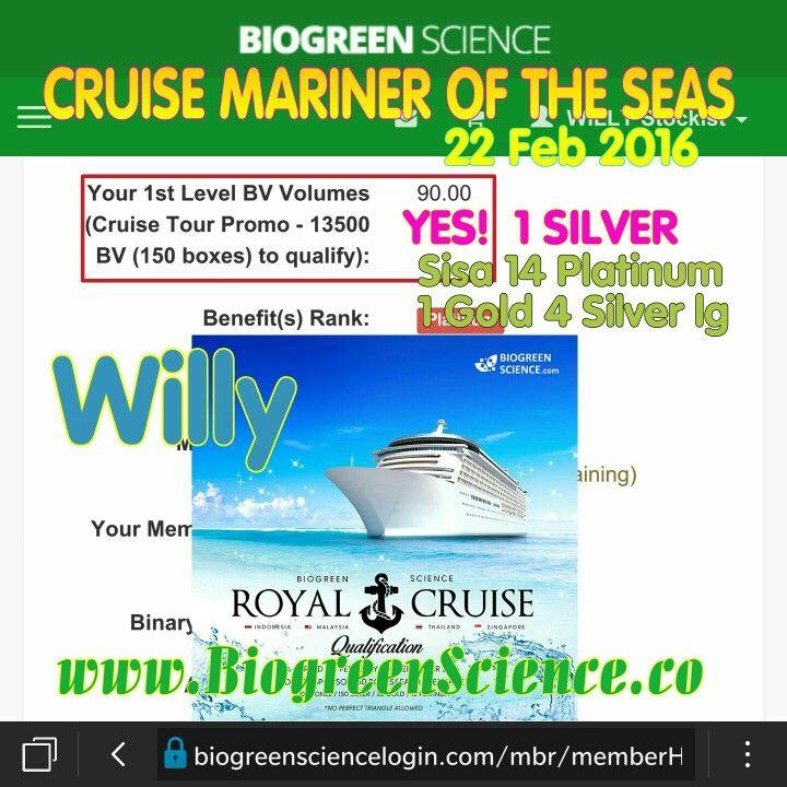 Yes 1 Silver Promo CRUISE MARINER OF THE SAS  WA : 0856 9500 8888  BBM : 2C1772F5