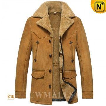 Vintage Sheepskin Coat CW807156 www.cwmalls.com