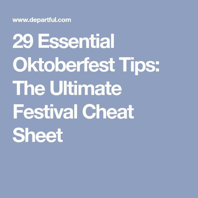 29 Essential Oktoberfest Tips: The Ultimate Festival Cheat Sheet