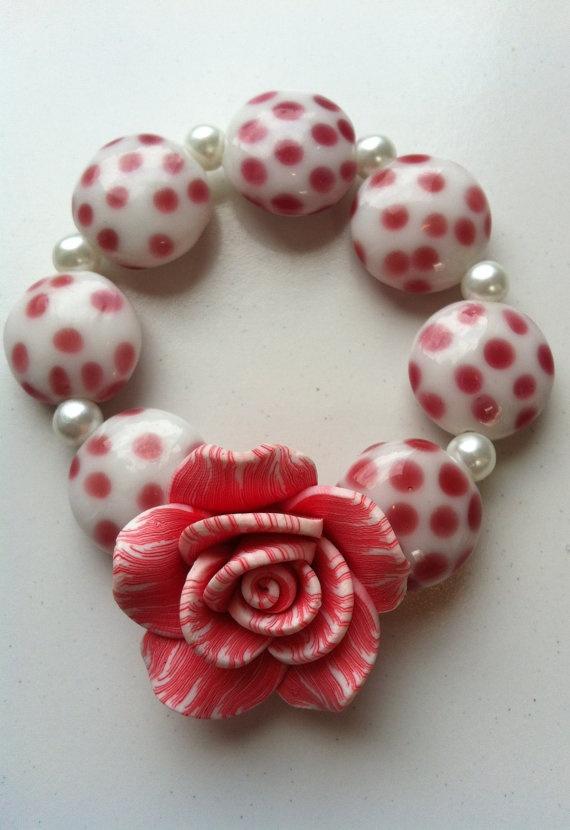 Spring bracelet par MadeWithLovebyGen sur Etsy, $15.00