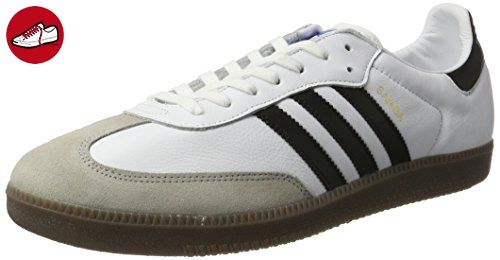 adidas Herren Samba OG Ausbilder, Weiß (Ftwr White/Core Black/Gum), 38 EU - Adidas schuhe (*Partner-Link)