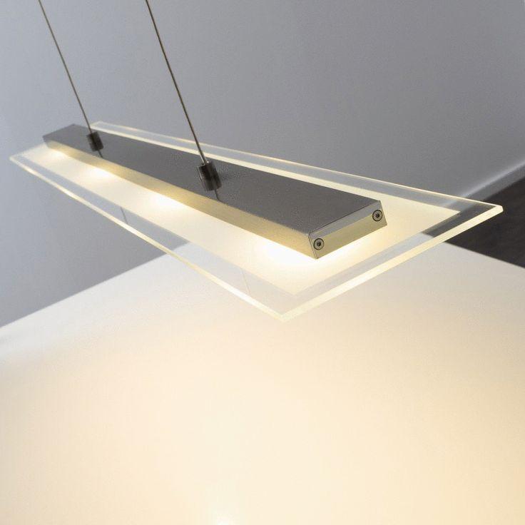 Best Diese Leuchte enth lt eingebaute LED Lampen der Energieklassen A bis A auf einer Skala von A sehr effizient bis E weniger effizient Die Lampen