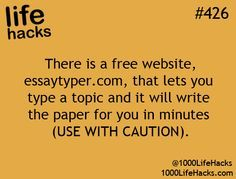 Ha, I've tried it and it's SOOO fun!!! It's maagiiic!! (of course, you can't actually use the paper; that's plagiarism, people.)