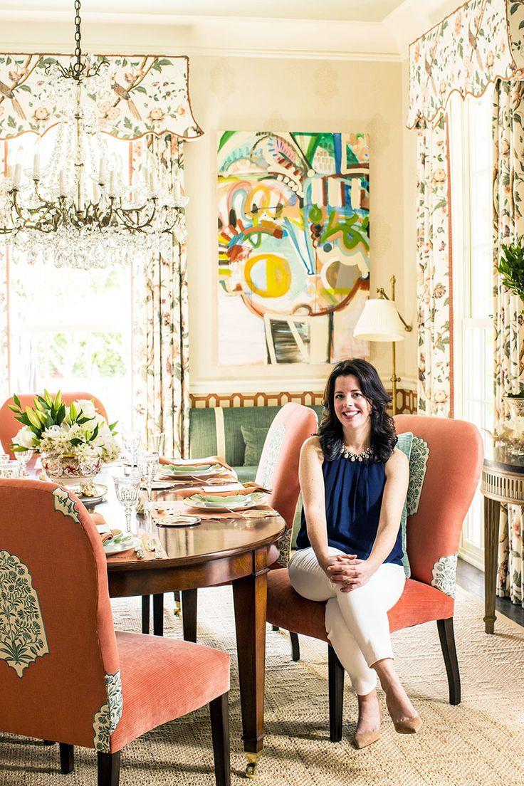 Interior Designer Margaret Kirkland S Dining Room In The 2016 Southern Living Idea House