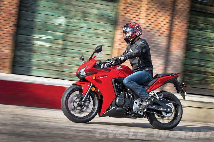2013 Honda CBR500R - action left-side view