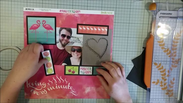 #375 Loving every minute - Scrapbook Process