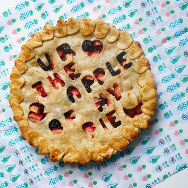 Celebrating #pi day with #pie puns! You are the apple of my pie  #LetsEMC