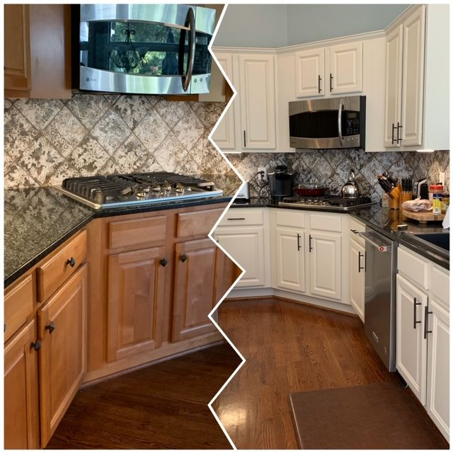 Spray Painting Kitchen Cabinets Painting Kitchen Cabinets Kitchen Cabinets Makeover Refacing Kitchen Cabinets