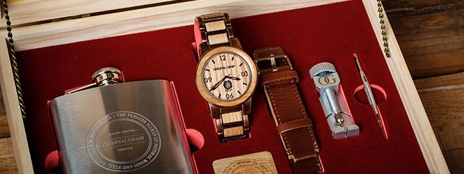 Original Grain and the world's #1 bourbon brand, Jim Beam, link up for an All-American collaboration. 500 limited edition watches