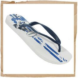 Havaianas Alamoana Flip Flop White/Blue Havaianas Alamoana Flip Flop Made from a Top-secret Rubber Recipe Light  Highly Durable Floral Print to the Footbed Rubber Strap  Toe Piece http://www.comparestoreprices.co.uk/sports-shoes/havaianas-alamoana-flip-flop-white-blue.asp