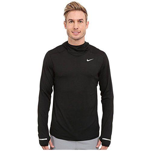(ナイキ) Nike メンズ トップス 長袖シャツ Dri-Fit Element Hoodie 並行輸入品  新品【取り寄せ商品のため、お届けまでに2週間前後かかります。】 カラー:Black/Reflective Silver 商品番号:sh2-8630950-124182