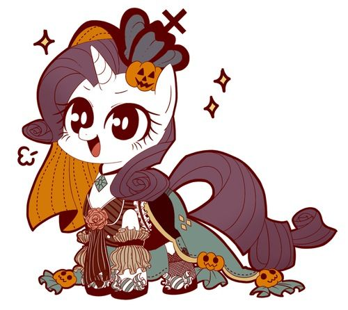 My Little Pony Halloween- Rarity