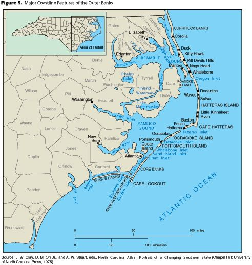 Cape Hatteras Is A Cape On The Coast Of North Carolina It Is The Point