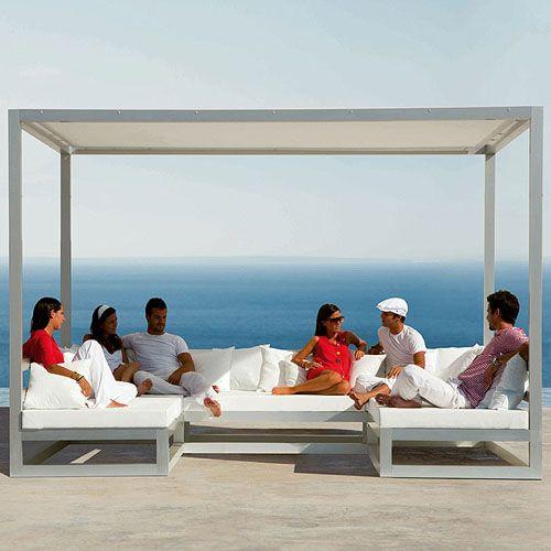 Pergola Outdoor Cabana By Gandia Blasco