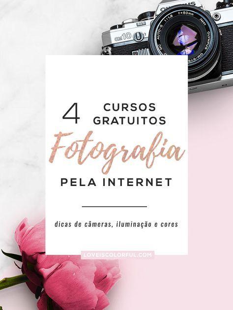4 cursos gratuitos de fotografia pela internet que vão te ajudar bastante a melhorar na área e ainda dar uma economizada