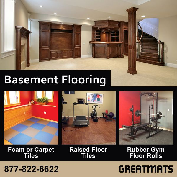 66 Best Basement Flooring Images On Pinterest