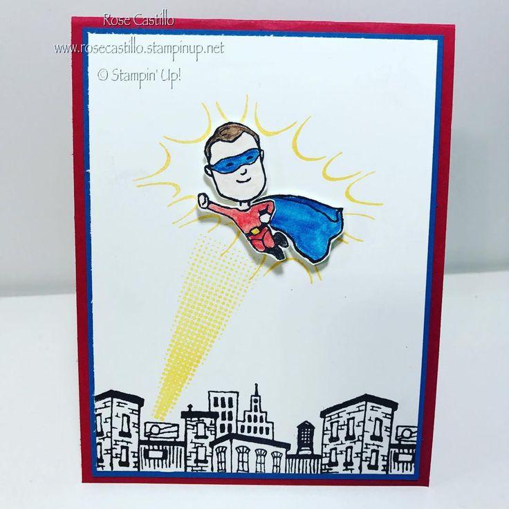 Everyday Hero Stamp Set by Stampin' Up!