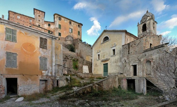 Top abandoned places in Europe - Balestrino - European Best Destinations