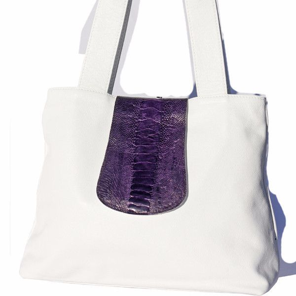 Heidi Bag . Heidi Bag with two shoulder straps and an ostrich leg skin flap that closes with a magnetic snap.60 Colours to choose from. GoodiesHub.co