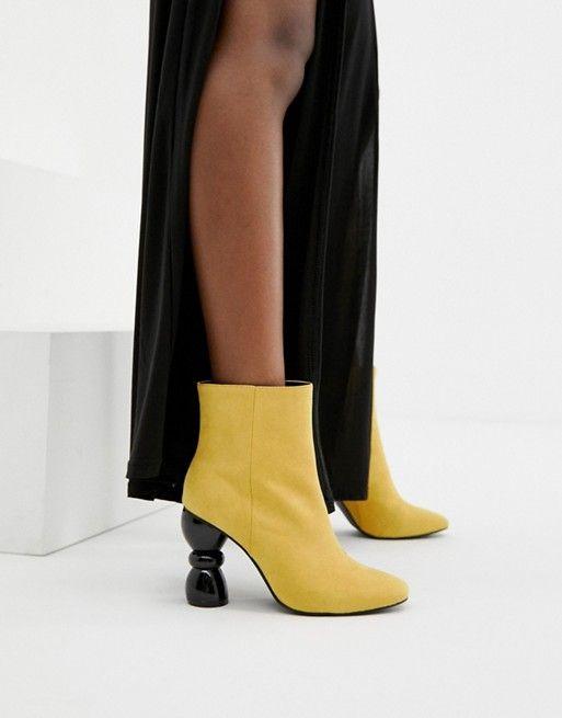 7062d85d133 ASOS DESIGN Edina heeled ankle boots