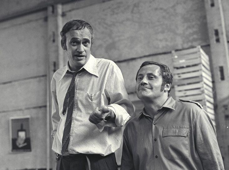 Rajhona Ádám és Koltay Róbert kettőse, mint Falkay elvtárs a ládagyár igazgatója és Bozody tűzoltó-parancsnok (Egészséges erotika 1985 r: Tímár Péter)