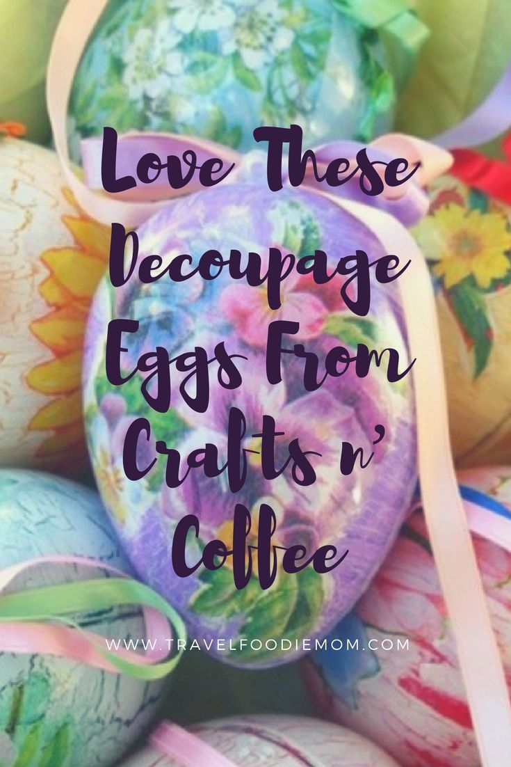 Creative Easter Gift Ideas - Love these decoupage eggs from crafts n coffee crafting crafts easter easter giftfun diycreative