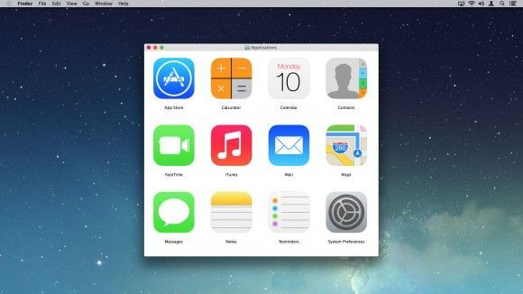 Mac OS X Yosemite: Applications