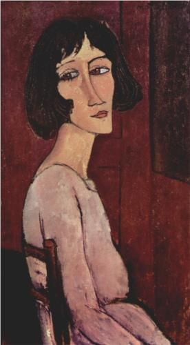 Portrait of Margarita - Amedeo Modigliani 1916